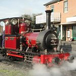 The nearby Talyllyn Railway - September 2013