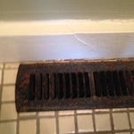 rust bathroom vent