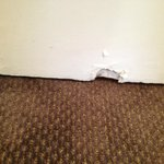 Hole in bedroom door