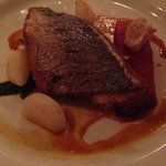 Sea Bream in the Manor Restaurant
