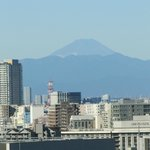 View of Mt Fuji from room