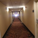 Hallway from room