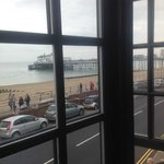 Super view from bedroom of Eastbourne Pier