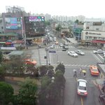 view of central Itaewon from my window