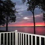 Loon Cottage - Deck, Sunrise