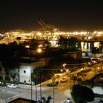 Port of LA, night