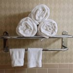 Towels in the bathroom