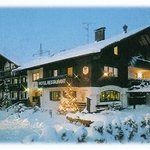Hotelbild im Winter