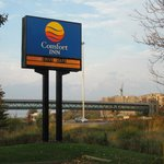 hotel sign from freeway