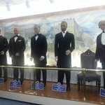 Hall of the presidents, all of them! Past and Present. Living and Dead!
