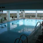 Pool on the top floor