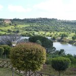 Almenara course with hotel/clubhouse top left