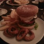 Tunnel Top Burger with Homemade Chips