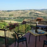 Lovely deck where you can relax, have some wine and cheese and take in the view