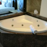 jacuzzi in room