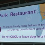 Dog friendly for people who love their pets...