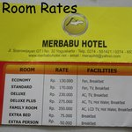 Room Rates, we paid much more through Agoda