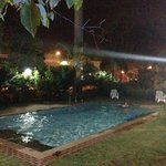 Night Swimming at the pool area. (very relaxing)