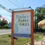 Funcho's outdoor seating