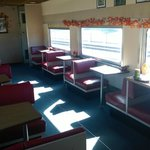 The Pullman dining car.