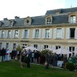 Chateau la Cheneviere group cocktail reception