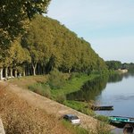 Along the river at Chinon