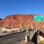 Approaching Mexican Hat and The San Juan Inn