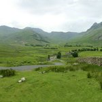 The stunning Great Langdale Valley, just north of Coniston is well worth the drive.