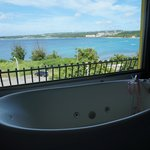 Nice Jacuzzi with a stunning sea view