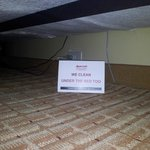 Under the bed :-)