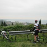 cycling to Lake Garda