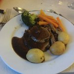 Lamb with potatoes. My dinner