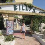Mia outside Billys