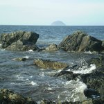 Ailsa Craig from south of Girvan