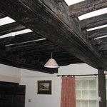 Roof Beams in Lounge