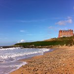 The Headland from Fistral Beach
