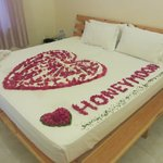 decoration of our bed