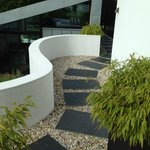 Private stylish walkways of Kaywana