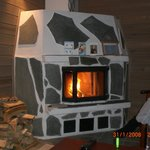 fantastic fireplace..