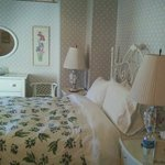 The lovely Lavender Room at The Sea Spray Inn