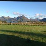 View from Brybeg lounge window over Loch Torridon