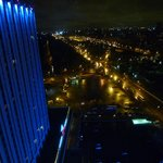 View from the 28th floor at night