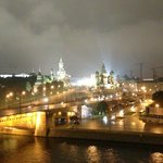 Beautiful view of the Kremlin from Room #611
