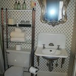 Small bathroom, but adequate