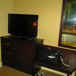 View of TV in main room