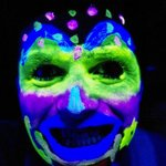 Getting wild with the UV paint