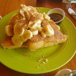 Brown Sugar & Banana French Toast..MMM, still dream about it
