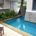 Our own pool in the Edge Water villa