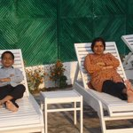 Relaxing at the swimming pool at Hotel Payal
