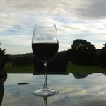 Tranquil Glass Of Red